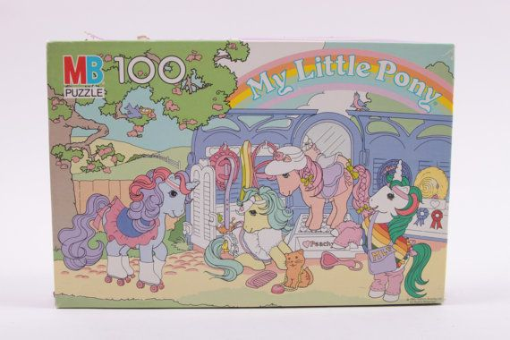 My Little Pony Show Stable Vintage Jigsaw Puzzle 100%