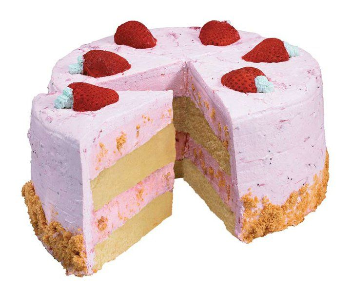 Cold Stone Cake Kiss Of Strawberry