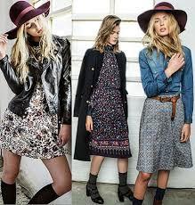 Resultado de imagem para moda boho chic 2015 – Moda