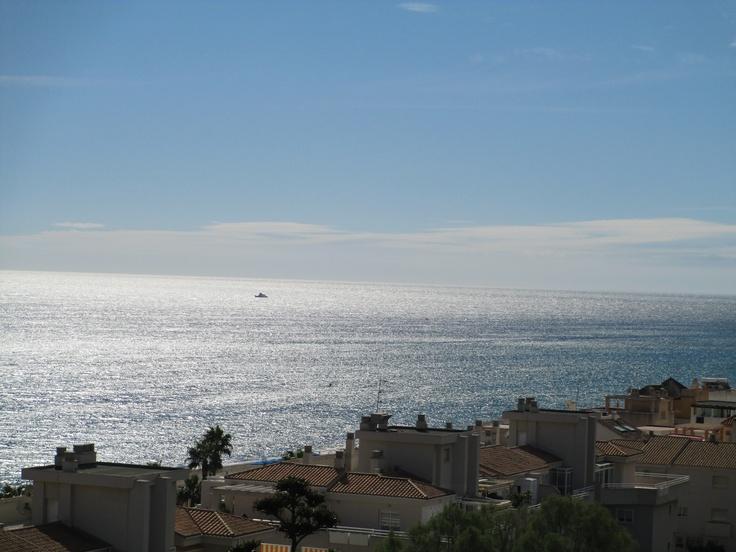Sea view, Torremolinos, Andalusia, Spain