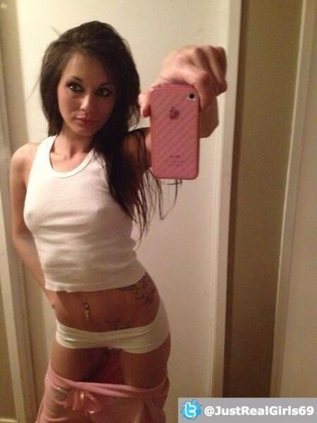 Nice erect nipples in this tight tshirt and mirrorpic for Girl nipple tattoo
