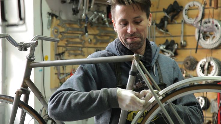 bicycled - bikes made from scrap car parts