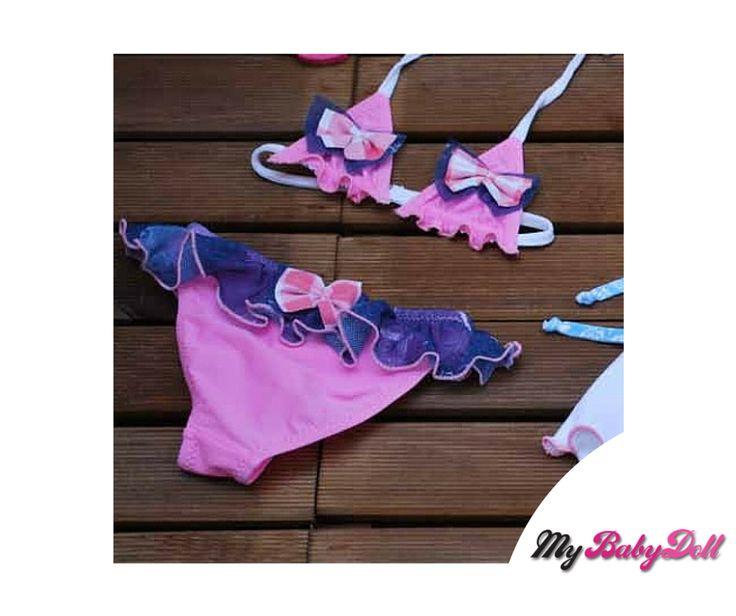 Παιδικό Μαγιώ Bikini – Aquamania By Crool  Δείτε εδώ > http://mybabydoll.gr/shop/girl/paidiko-magio-bikini-aquamania-by-crool-a05-644/  Παιδικό μαγιώ bikini τρίγωνο της ελληνικής εταιρείας Crool. Ένα μαγιώ που θα λατρέψουν οι μικρές μας φίλες αλλά και οι γονείς με την άριστη ποιότητα του. Στεγνώνει εύκολα μετά την έξοδο από την θάλασσα.