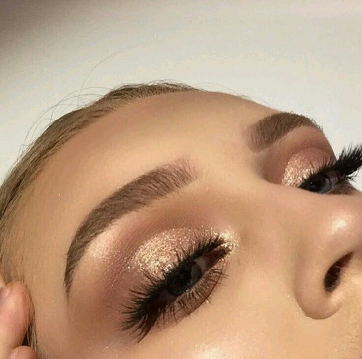 Image result for gold eyeshadow pinterest