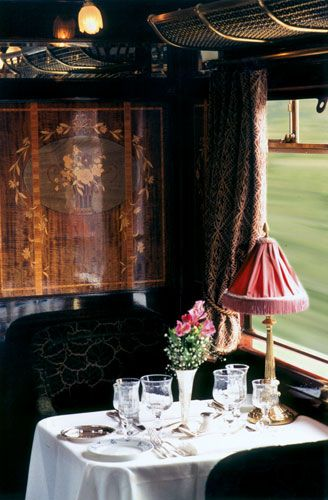 Dining car, Orient Express