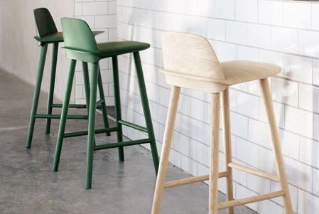 MUUTO (Copenhagen) Nerd bar stool design David Geckeler.
