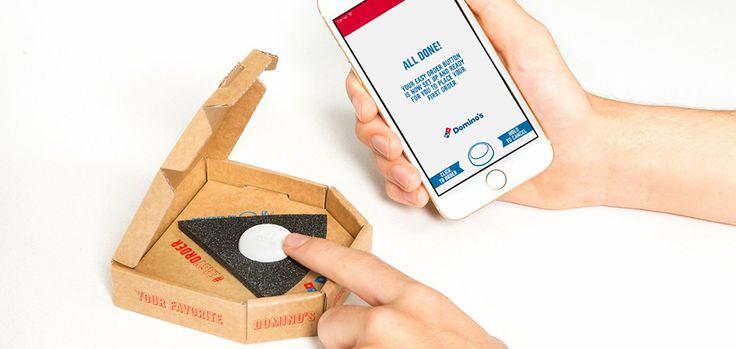 Dominos crée le bouton qui vous permet de commander votre pizza en un instant