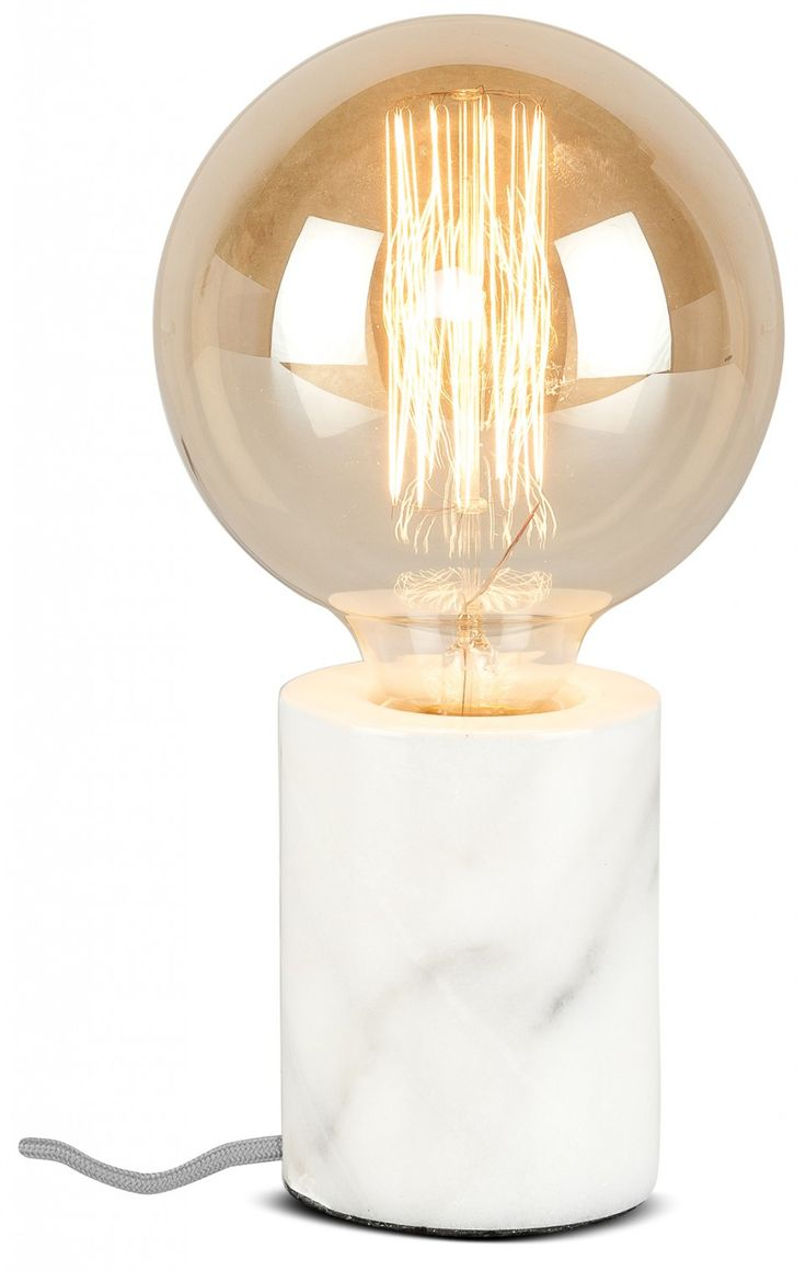 The stylish & original Athens Table Lamp by hip Dutch designers It's about RoMi, makes a truly elegant statement! This modern marble lamp will look great on a bedside table or a side table in any room.