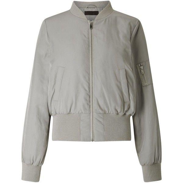 Best 25  Grey bomber jacket ideas on Pinterest   Cozy outfits ...