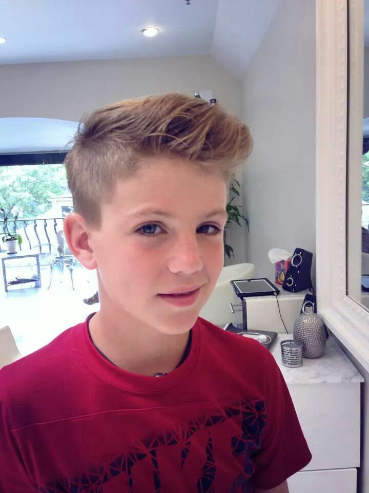 new boys haircut mattyb changed his hair style he is cool artists 2584