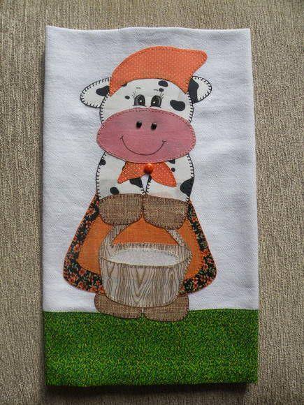 Trabalho diferenciado em patchwork feito com tecidos 100% algodão