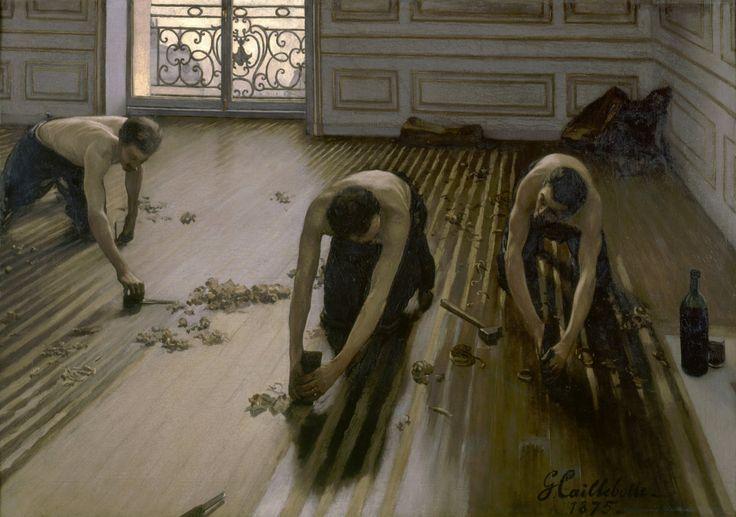 Les raboteurs de parquet por Gustave Caillebotte Inicio decoración pared decoración Giclee arte imprimir cartel A4 A3 A2 gran impresión tarifa plana envío