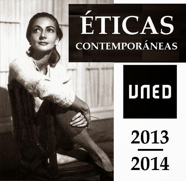 Éticas contemporáneas... http://studiahumanitats.blogspot.com.es/ #StudiaHumanitatis #unedhistoria