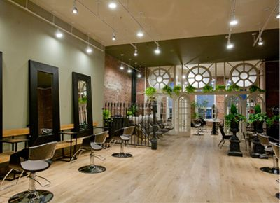 Hate to know what they charge...Hale Organic Hair Salon in Tribeca is the city's most eco-friendly hair-care destination. Photo Credit: Carol Seitz