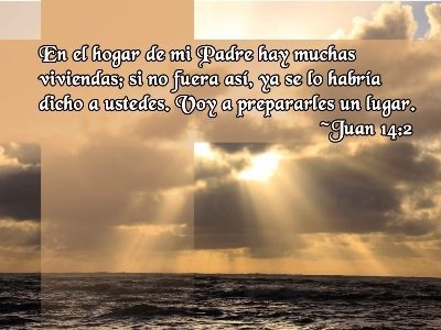 Juan 14:2 Spanish Bible verses and Quotes with Pictures Pinterest