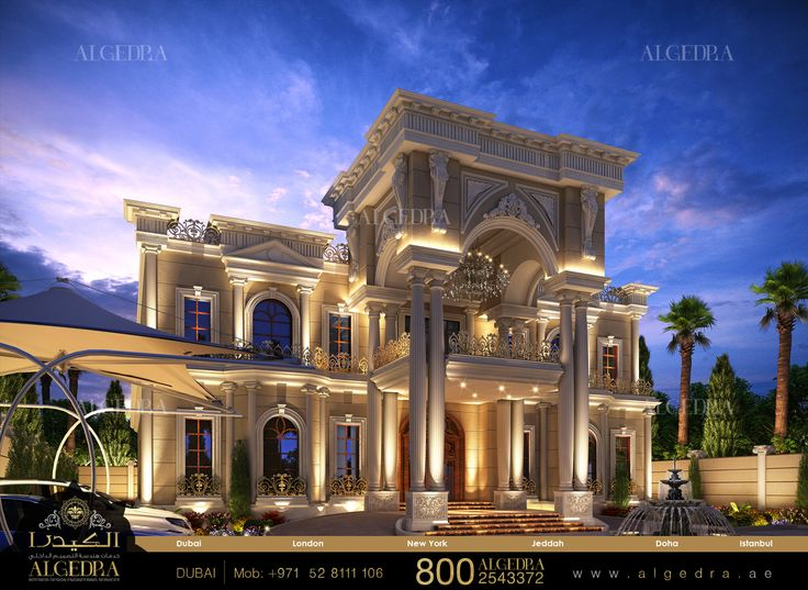 for Luxury classic villa design