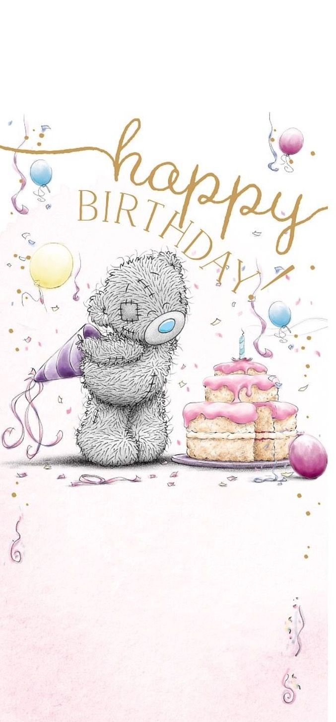 Happy birthday - Tatty Teddy