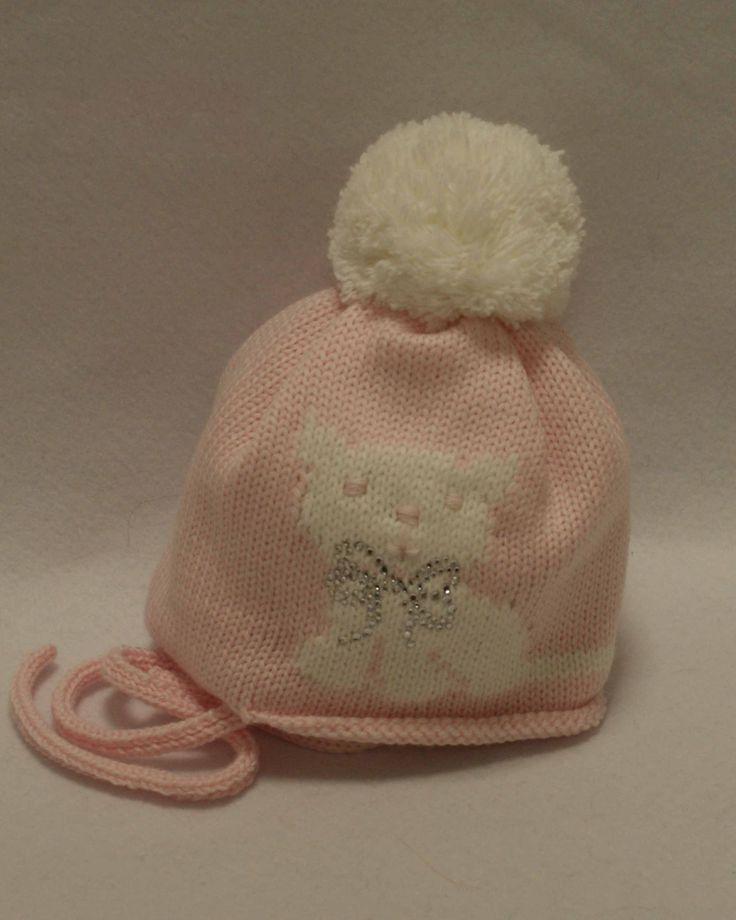 Catya - Cappello in lana con gattino