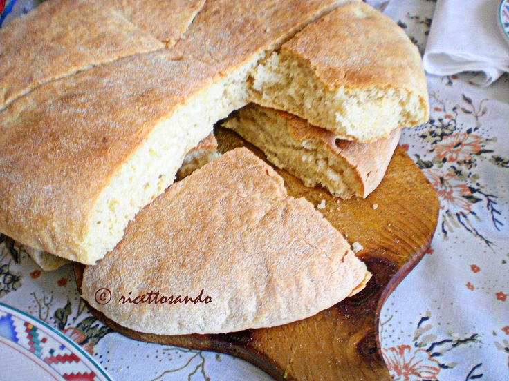 Pane arabo #ricetta di @luisellablog
