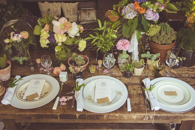Unique Wedding Table   Camille Marciano for Junophoto   Bridal Musings Wedding Blog 13