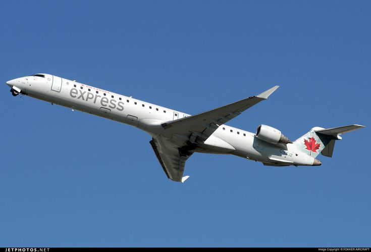 High quality photo of C-FKJZ (CN: 15044) Air Canada Express (Jazz Aviation) Bombardier CRJ-705LR by FOKKER AIRCRAFT