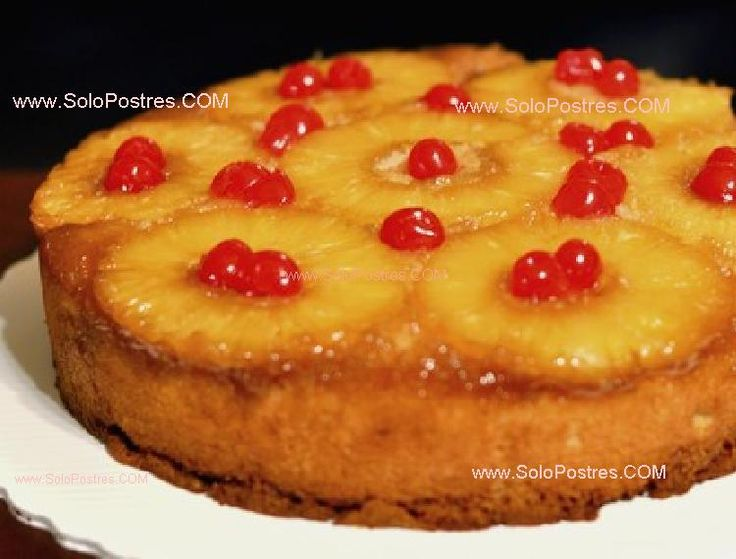 Torta original de ananá