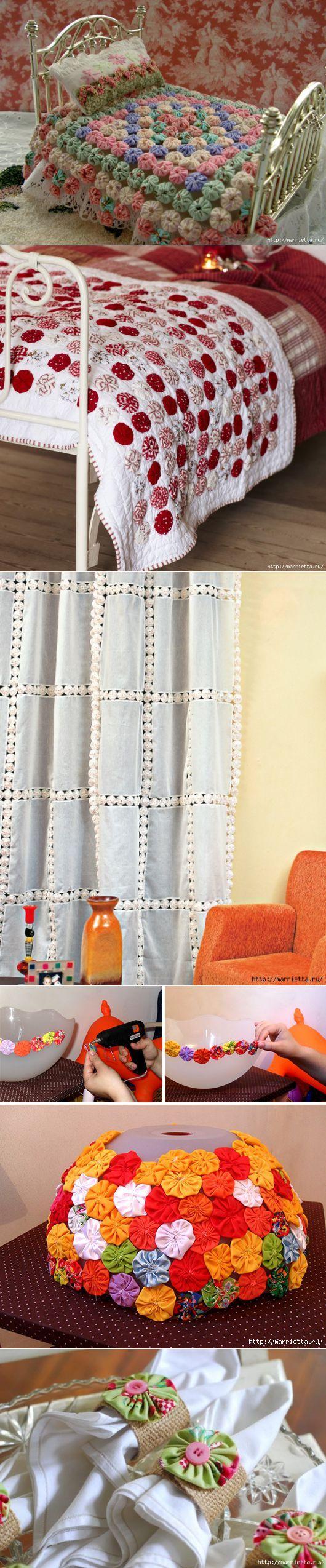 Yo-yoshki para cortinas e outras ideias.