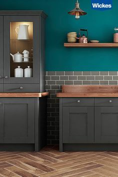 1000 ideas about dark wood kitchens on pinterest light wood kitchens two tone kitchen and - Modern look kitchen cabinets pictures for maximum effect ...