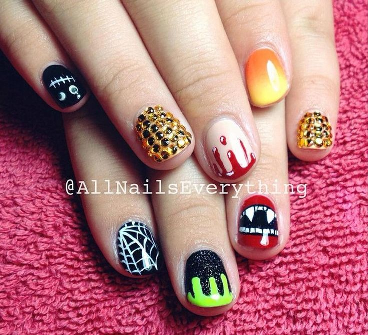 Instagram's Best Halloween Manicure Inspiration