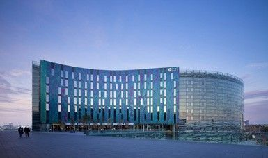 Aloft London ExCel - our four star hotel from Thursday until Sunday