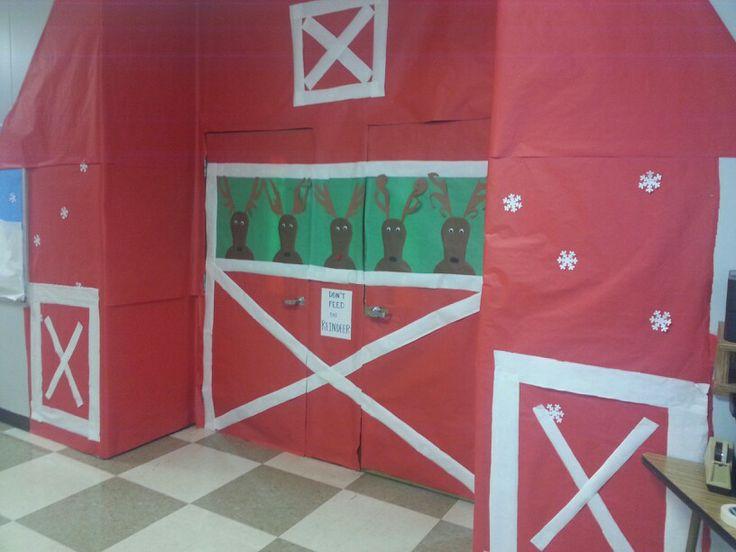 Dont Feed The Reindeer Door Decoration