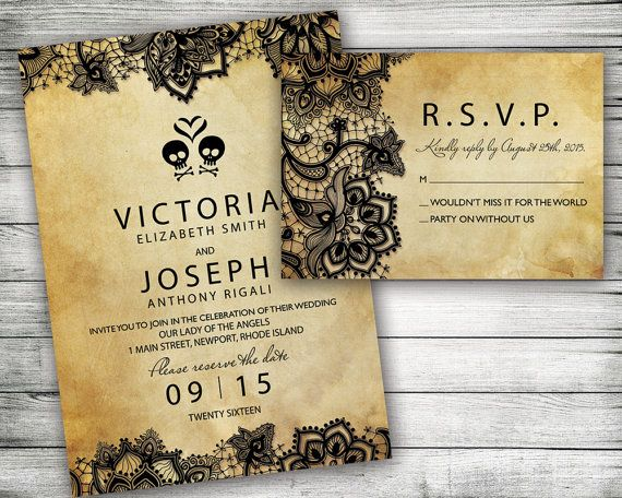 Halloween Wedding Invitation: 25+ Best Ideas About Halloween Wedding Invitations On