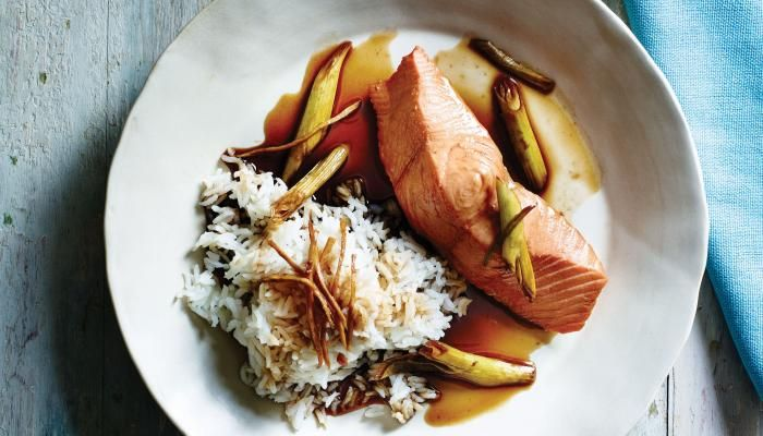 Shanghai-Style Poached Salmon
