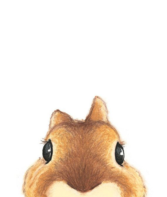 Cute Brown Rabbit Illustration by ABunnyandBear on Etsy, $23.00