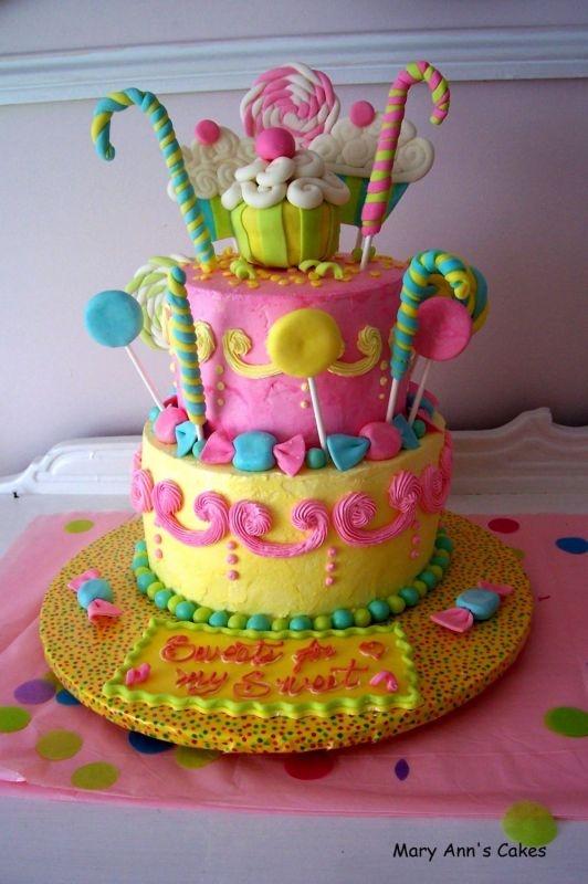 Meisjes : Snoepjes taart