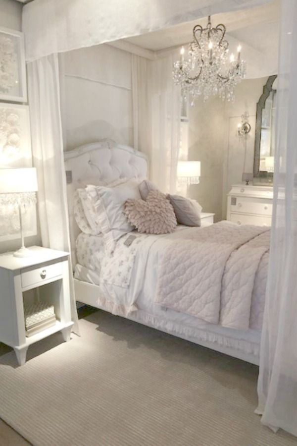 Restoration Hardware Romantic French Decor Ideas Hello Lovely Country Bedroom Country House Decor French Country Bedrooms