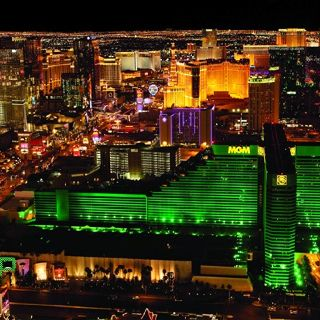 Although an opportunity for the band presents itself during the series. And Las Vegas is involved...