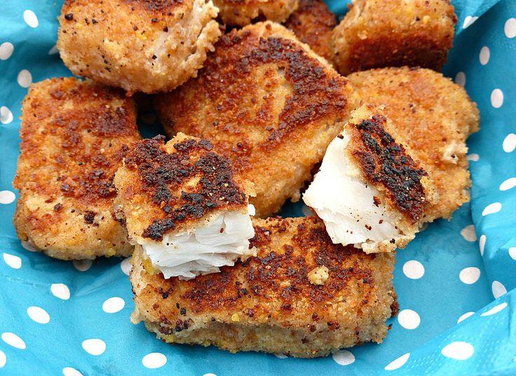 Crispy Tortilla Chip Encrusted Fish Chunks
