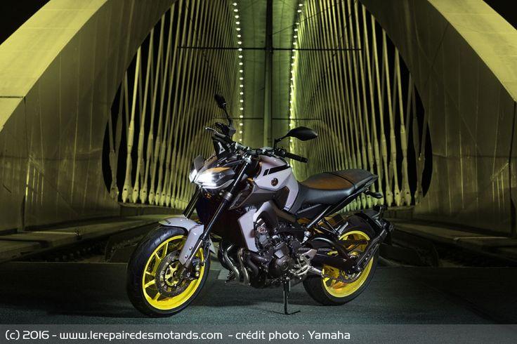 Technique de la Yamaha MT-09
