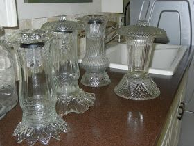 Something From Nothing: Solar lamps from recycled dishes