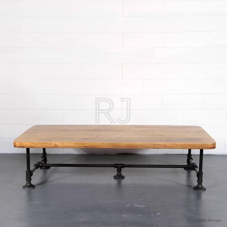Stan Vintage Coffee Table - Black    $549.00