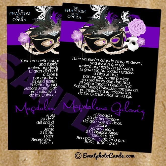 17 Best images about Quinceanera Invitations Styles – Invitation Cards for Quinceanera