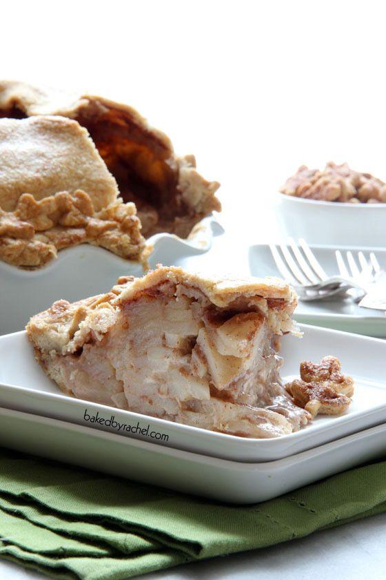 Deep Dish Apple Pie Recipe by bakedbyrachel.com