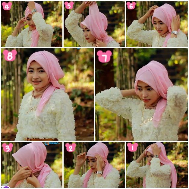 Tutorial Hijab untuk Pesta #11/ Hijab Tutorial for Party Part 11