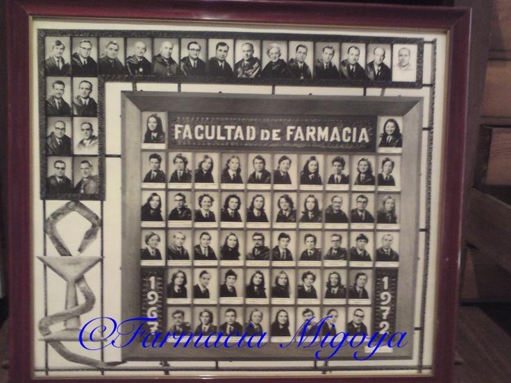 Orla de mi padre Ismael Migoya Rodríguez, Universidad de Santiago de Compostela #farmaciasconhistoria #botica