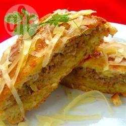 Panqueca de batata recheada @ allrecipes.com.br