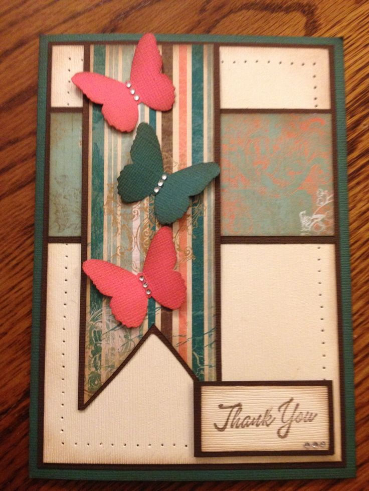 Thank you card- i like this, but maybe use more simplistic colours...