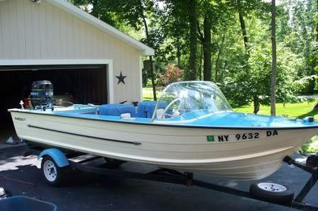 First Boat Restoration / 560302