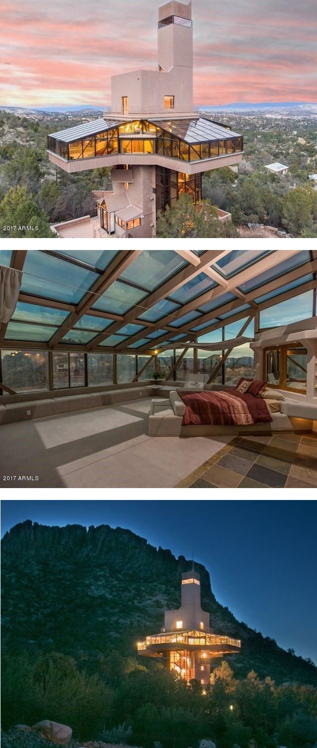 This unique real estate offering has sweeping views of the valley and is located minutes away from the city.
