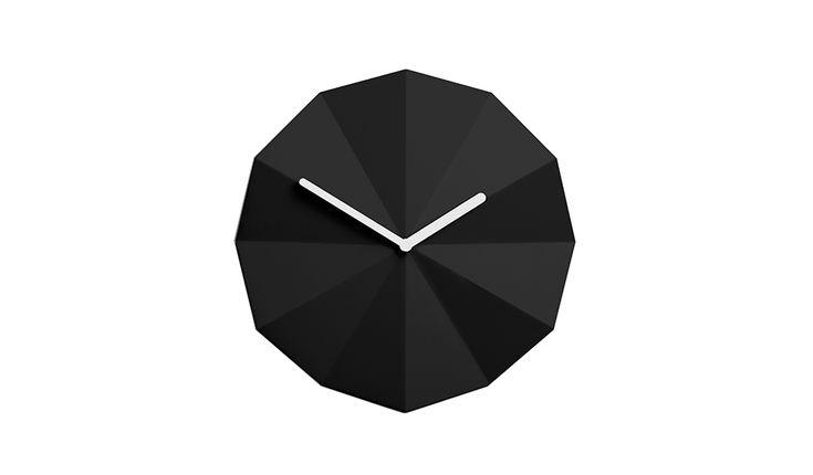 Delta Clock - Black | Lawa Design
